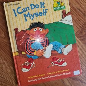 "Vintage Sesame Street ""I Can Do It Myself"" book"